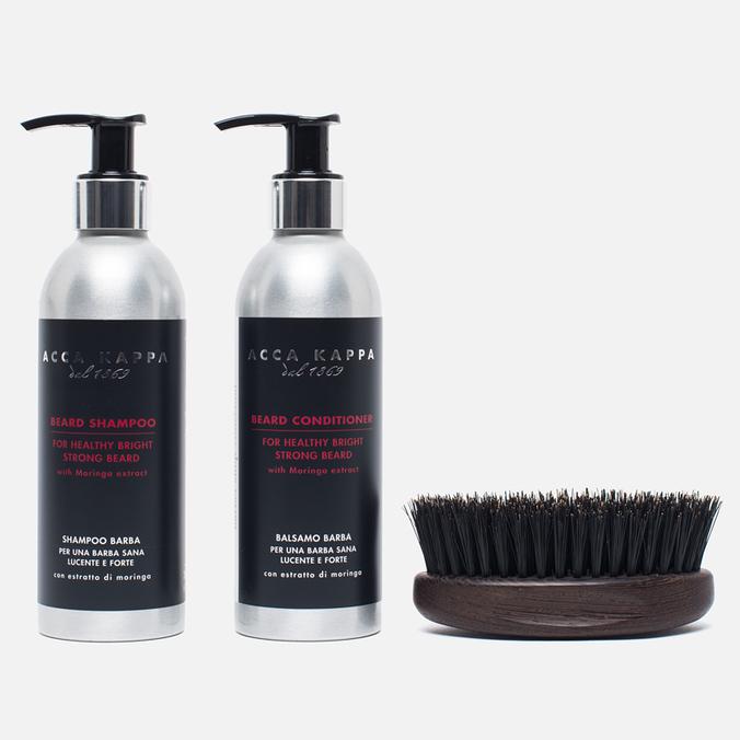 Acca Kappa Barber Shop Shaving Gift Set Silver