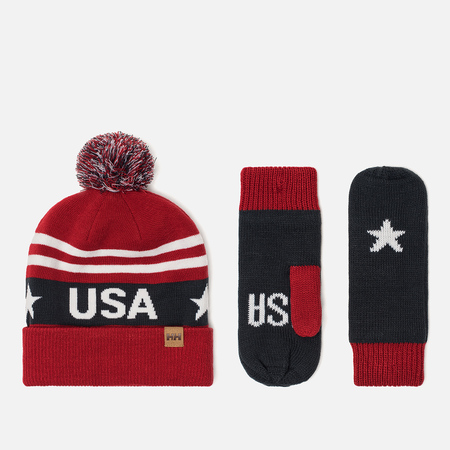 Подарочный набор Helly Hansen Going For Gold Set USA Flag Blue