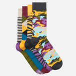 Комплект носков Happy Socks Bark Gift Box Camo Brown/Green/Grey/Orange/Purple фото- 1