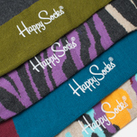 Комплект носков Happy Socks Bark Gift Box Camo Brown/Green/Grey/Orange/Purple фото- 2