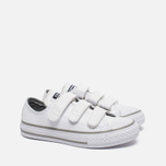 Converse Chuck Taylor All Star 3V Kid's Plimsoles White photo- 2