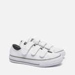 Подростковые кеды Converse Chuck Taylor All Star 3V White фото- 2