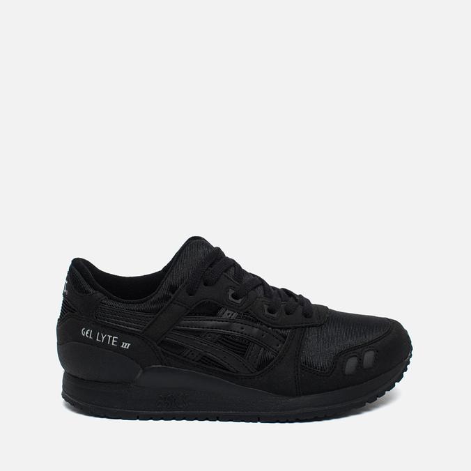 Подростковые кроссовки ASICS Gel-Lyte III GS Black/Black