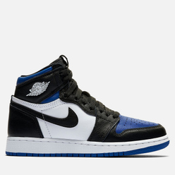 Подростковые кроссовки Jordan Air Jordan 1 Retro High OG GS Black/Black/White/Game Royal