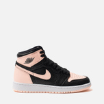 Подростковые кроссовки Jordan Air Jordan 1 Retro High OG GS Black/Crimson Tint/White/Hyper Pink фото- 0