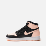 Подростковые кроссовки Jordan Air Jordan 1 Retro High OG GS Black/Crimson Tint/White/Hyper Pink фото- 1