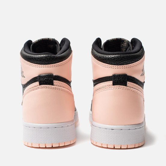 Подростковые кроссовки Jordan Air Jordan 1 Retro High OG GS Black/Crimson Tint/White/Hyper Pink