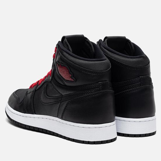 Подростковые кроссовки Jordan Air Jordan 1 Retro High OG GS Black/Gym Red/Black/White