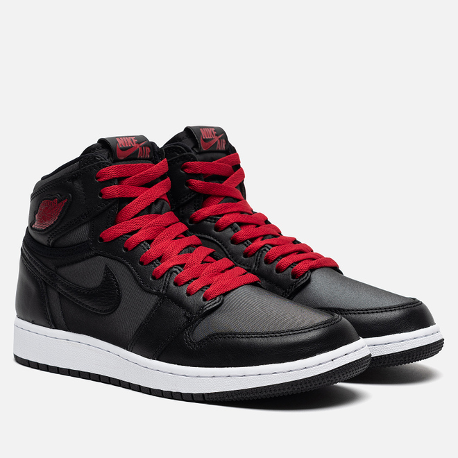 Подростковые кроссовки Jordan Air Jordan 1 Retro High OG GS Black/Gym Red/Black/White
