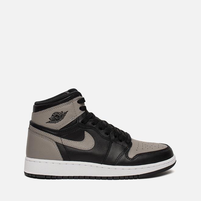 Подростковые кроссовки Jordan Air Jordan 1 Retro High OG GS Black/Medium Grey/White
