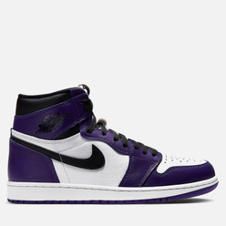 Подростковые кроссовки Jordan Air Jordan 1 Retro High OG GS Court Purple/Black/White