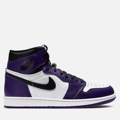 Подростковые кроссовки Jordan Air Jordan 1 Retro High OG GS Court Purple/Black/White