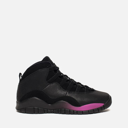 Подростковые кроссовки Jordan Air Jordan 10 Retro GG Black/Fuchia Blast/Black