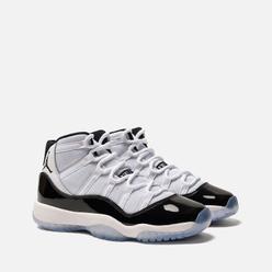 Подростковые кроссовки Jordan Air Jordan 11 Retro GS White/Black/Concord
