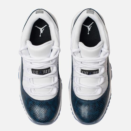 Подростковые кроссовки Jordan Air Jordan 11 Retro Low LE GS White/Black/Navy
