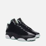 Подростковые кроссовки Jordan Air Jordan 13 Retro GS Black/Metallic Gold/Mint Foam/White фото- 1