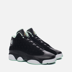 Подростковые кроссовки Jordan Air Jordan 13 Retro GS Black/Metallic Gold/Mint Foam/White