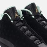 Подростковые кроссовки Jordan Air Jordan 13 Retro GS Black/Metallic Gold/Mint Foam/White фото- 5