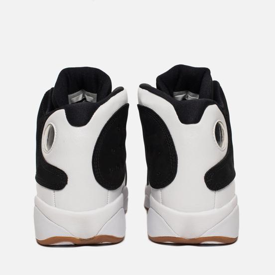 Подростковые кроссовки Jordan Air Jordan 13 Retro GS Black/Metallic Gold/White/Gum Medium Brown