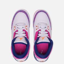 Подростковые кроссовки Jordan Air Jordan 3 Retro GS Barely Grape/Hyper Crimson/Fire Pink фото- 1