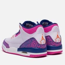 Подростковые кроссовки Jordan Air Jordan 3 Retro GS Barely Grape/Hyper Crimson/Fire Pink фото- 2