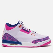 Подростковые кроссовки Jordan Air Jordan 3 Retro GS Barely Grape/Hyper Crimson/Fire Pink фото- 3