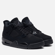 Подростковые кроссовки Jordan Air Jordan 4 Retro GS Black/Black/Light Graphite фото- 0