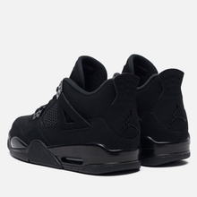Подростковые кроссовки Jordan Air Jordan 4 Retro GS Black/Black/Light Graphite фото- 2