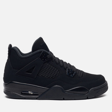 Подростковые кроссовки Jordan Air Jordan 4 Retro GS Black/Black/Light Graphite фото- 3