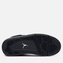 Подростковые кроссовки Jordan Air Jordan 4 Retro GS Black/Black/Light Graphite фото- 4