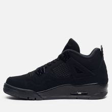 Подростковые кроссовки Jordan Air Jordan 4 Retro GS Black/Black/Light Graphite фото- 5