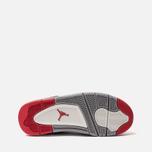 Подростковые кроссовки Jordan Air Jordan 4 Retro GS Black/Fire Red/Cement Grey/Summit White фото- 4
