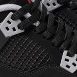Подростковые кроссовки Jordan Air Jordan 4 Retro GS Black/Fire Red/Cement Grey/Summit White фото- 6
