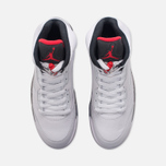 Подростковые кроссовки Jordan Air Jordan 5 Retro GS White/University Red/Black фото- 4