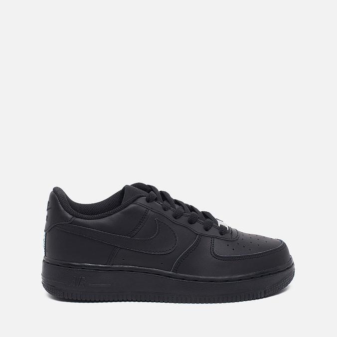 Nike Air Force 1 GS Teen Sneakers Black