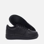 Nike Air Force 1 GS Teen Sneakers Black photo- 2