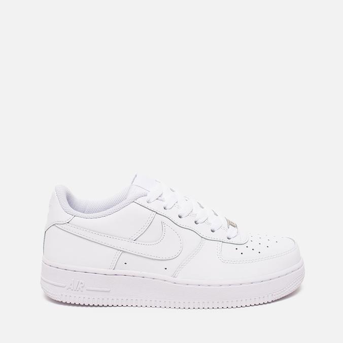 Nike Air Force 1 GS White Teen sneakers