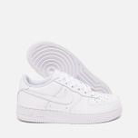 Nike Air Force 1 GS White Teen sneakers photo- 2