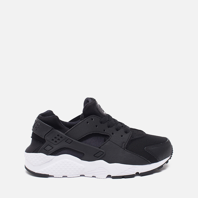 Подростковые кроссовки Nike Air Huarache Run GS Black/White