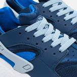 Подростковые кроссовки Nike Air Huarache Run GS Navy/White фото- 5