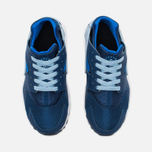 Nike Air Huarache Run GS Children's Sneakers Navy/White photo- 4