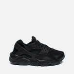 Nike Air Huarache Run GS Teen Sneakers Triple Black photo- 0