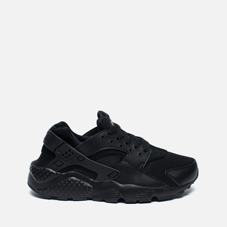Подростковые кроссовки Nike Air Huarache Run GS Triple Black