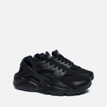 Nike Air Huarache Run GS Teen Sneakers Triple Black photo- 2