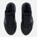 Nike Air Huarache Run GS Teen Sneakers Triple Black photo- 4