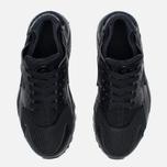 Подростковые кроссовки Nike Air Huarache Run GS Triple Black фото- 4