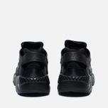 Подростковые кроссовки Nike Air Huarache Run GS Triple Black фото- 5