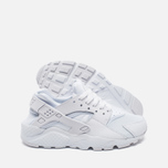 Подростковые кроссовки Nike Air Huarache Run GS White/Pure Platinum фото- 2