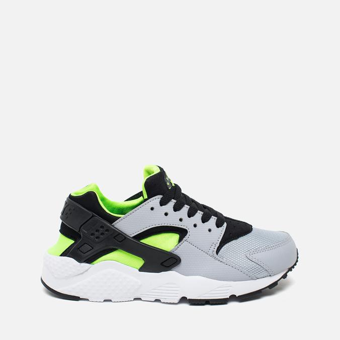Подростковые кроссовки Nike Air Huarache Run GS Wolf Grey