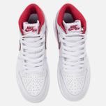 Подростковые кроссовки Jordan Air Jordan 1 Retro High OG BG White/Metallic Red/White фото- 4